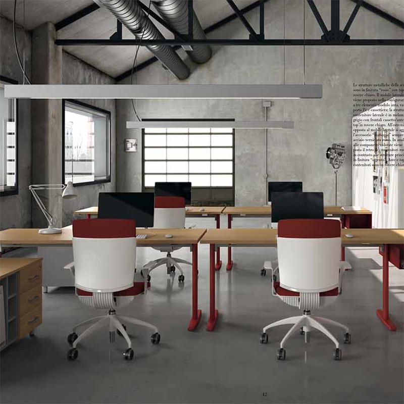 De santis ufficio for Arredamento minimalista design